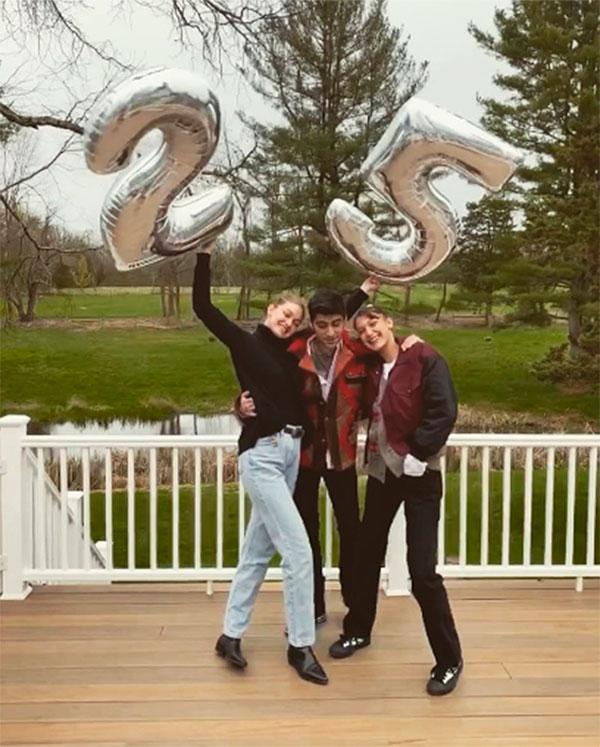 Cumpleaños 25 de Gigi Hadid