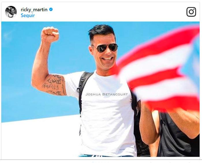 Las conmovedoras imgenes que Ricky Martin Luis Fonsi y