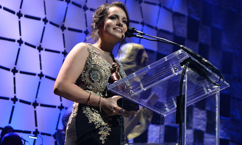 Sarita hija de José josé Salón de la Fama Musa Awards
