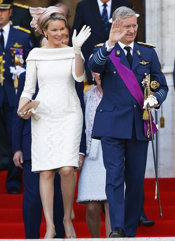 La elegancia de la Familia Real belga en los histricos