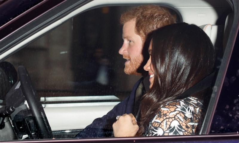 Los Duques de Sussex de vuelta en Londres tras su luna de miel