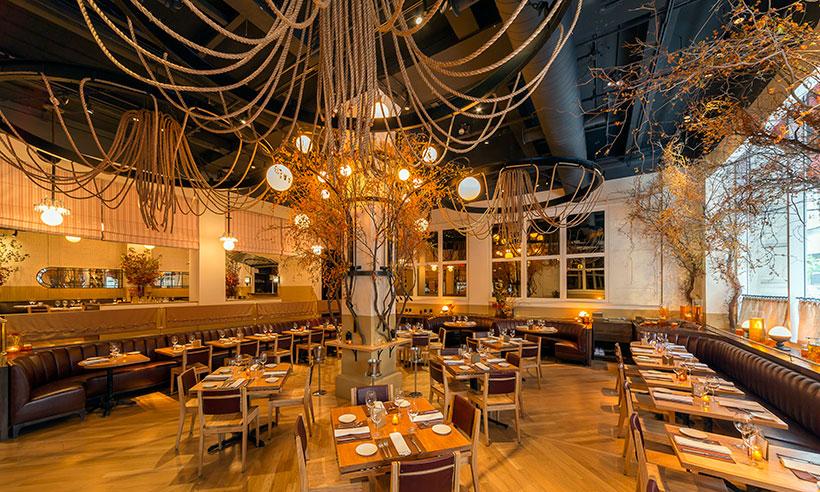 En Nueva York hay un restaurante que cambia con las estaciones