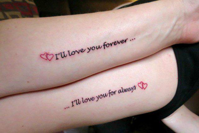 20 Tatuajes Para Mamás E Hijas Con Grandes Significados