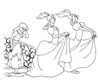Colorear cuentos: La Cenicienta | Recurso educativo 39957 ...