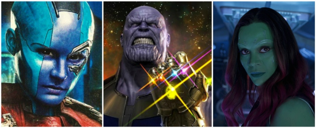 Image result for thanos gamora nebula