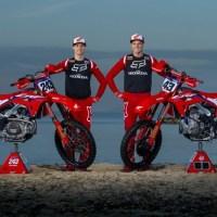 MXGP参戦「Team HRC」新型CRF450RWギャラリー、ライダー紹介ビデオ