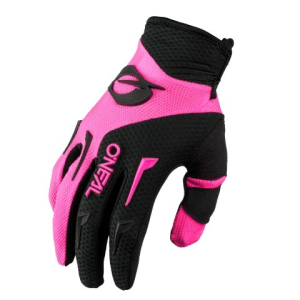 ONEAL YOUTH ELEMENT GLOVES BLK/PNK S 1-2