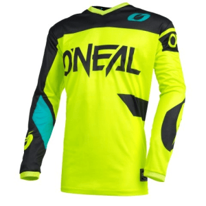 ONEAL YOUTH ELEMENT RW JERSEY NEON YEL/BLK L