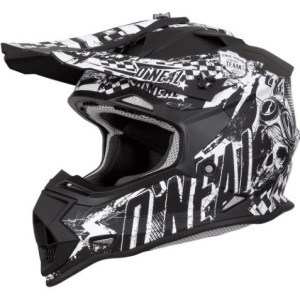 ONEAL 2SRS YOUTH HELMET RIDER BLACK/WHITE