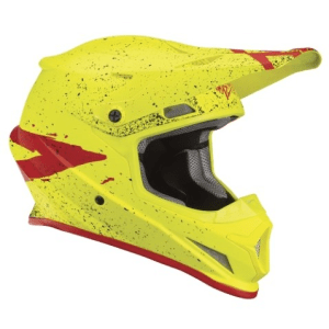 THOR YOUTH SECTOR HELMET ACID/RED