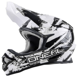 ONEAL 2016 3 SERIES SHOCKER HELM BLK/WHT ADULT XS