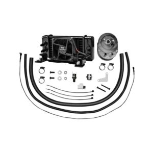 Jagg Horizontal Low Mount Fan Assisted Oil Cooler Kit For