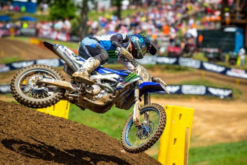 Barcia earned his best result of the season in second.