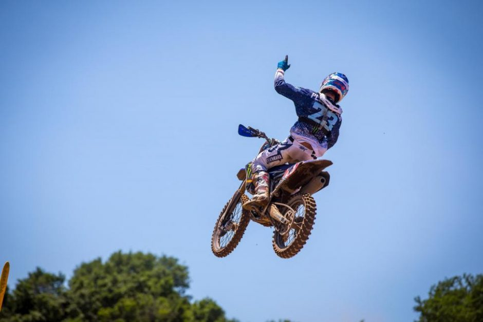 Aaron Plessinger swept both motos to take his third victory of the season.