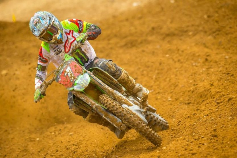 Eli Tomac captured his eighth overall win (3-1) of the season and extended his championship point lead.