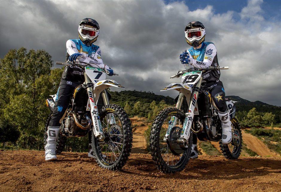 Arminas Jasikonis and Thomas Kjer Olsen - Rockstar Energy Husqvarna Factory Racing