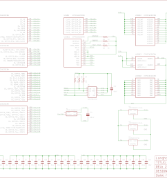 schematic for the design block parker is working on for the ep4ce6e22c8n fpga  [ 9966 x 4936 Pixel ]