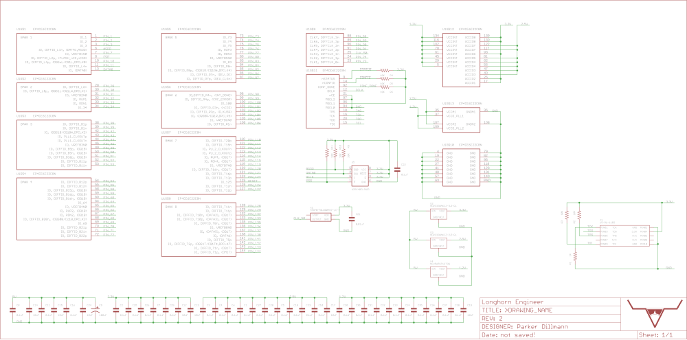 medium resolution of schematic for the design block parker is working on for the ep4ce6e22c8n fpga