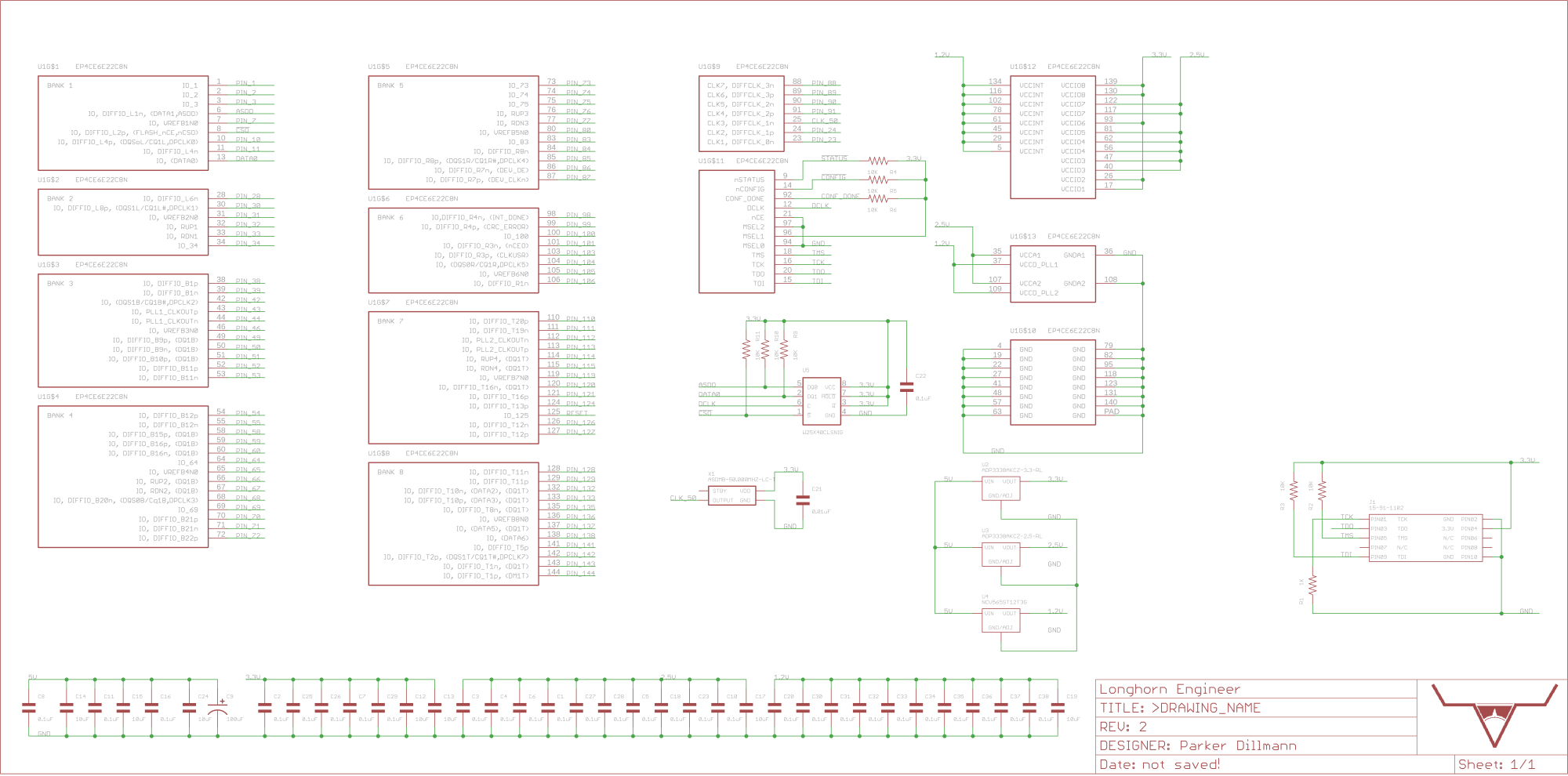 hight resolution of schematic for the design block parker is working on for the ep4ce6e22c8n fpga