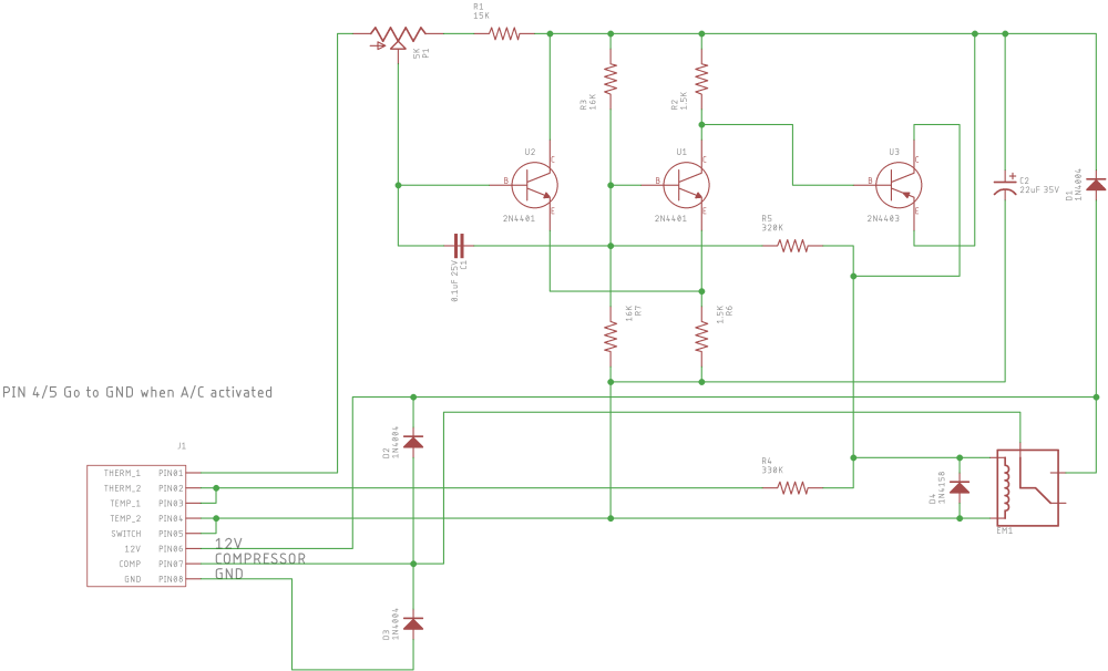 medium resolution of reversed engineered schematic parker made of the a c control module