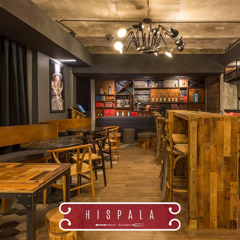 Tres propuestas en una beer garden bar cabaret y caf