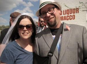 Det nygifte musikerpar Shannon og Julien Peterson var særligt begejstrede for Efterklang og Choir of Young Believers