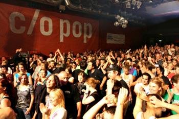 c/o Pop festivalen - har vokset sig stor og er for længst nået vedere end det elektroniske fokus.