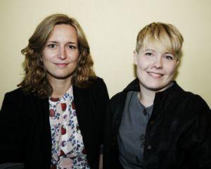 De to initiativtagere - Steffi van Kannemann & Nina Legnehed.