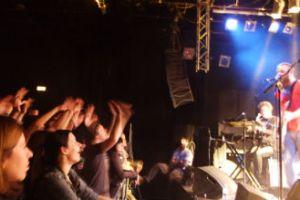 Et ellevildt publikum tog vel imod The Eclectic Monikers første koncert på østrigsk grund