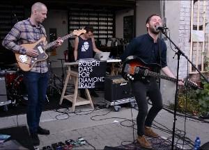Rough Days For Diamond Trade var ét ud af ni danske navne på Berlin Music Week 2013. (Foto: Marta Capilla)