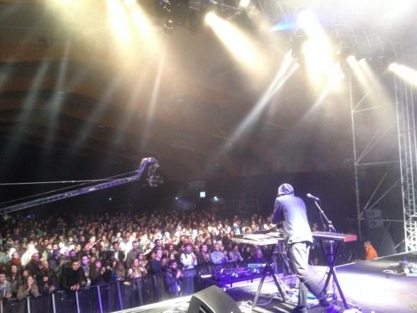Sekuoia på scenen ved Trans Musicales i Rennes for få uger siden - en stor succes