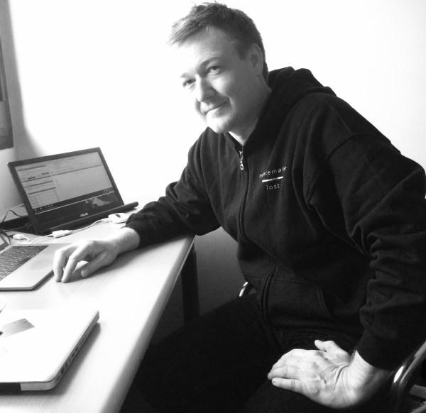Alt-mulig-manager Jonas Jacobsen på dagens kontor - 'Fabrique' i Milano