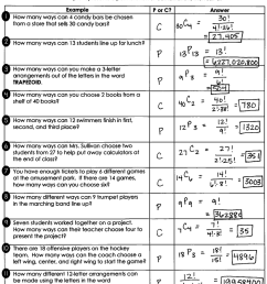 Permutations And Combinations Worksheet Answers - Worksheet List [ 1594 x 1178 Pixel ]