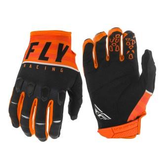 Kinetic K120 Gloves Orange/Black/White