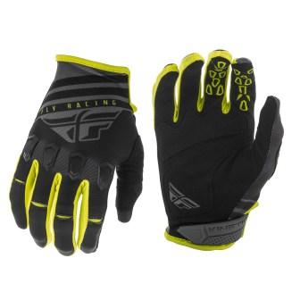 Kinetic K220 Gloves Black/Grey/Hi-Vis