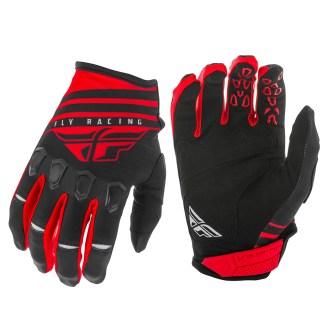 Kinetic K220 Gloves Red/Black/White