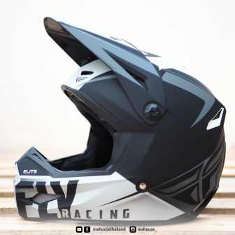 FLY Racing Elite Vigilant Black / Grey