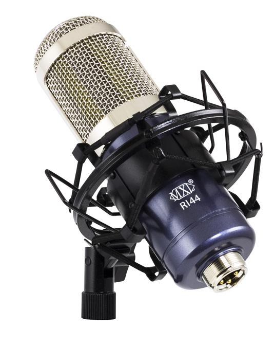 mxl r144 ribbon mic standard shockmount