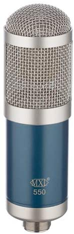 blue edition of the MXL 550 Microphone