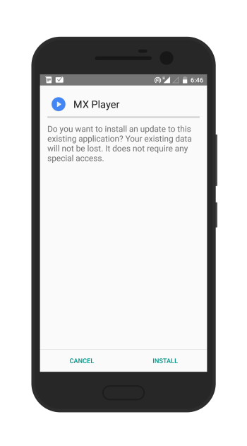install mx player on android