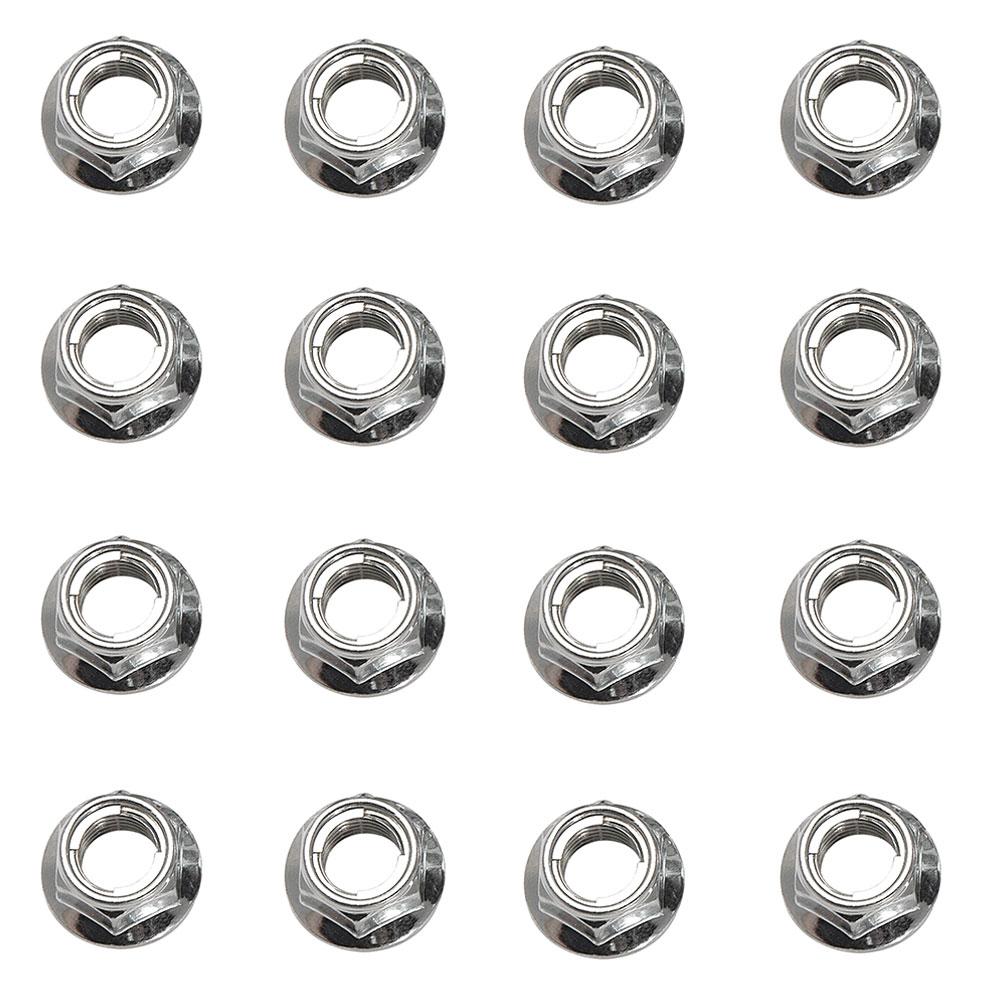(16 Pack) Tusk Flange Locking Lug Nut-Fits: Can-Am