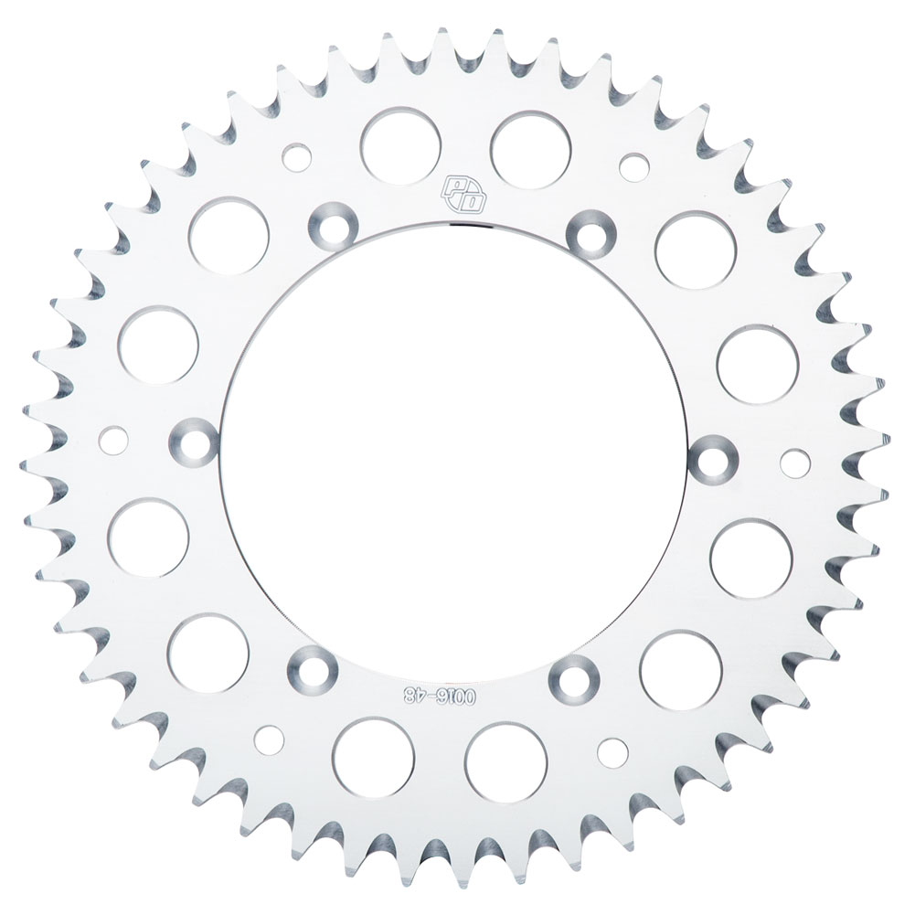 Primary Drive Rear Aluminum Sprocket 52 Tooth Silver