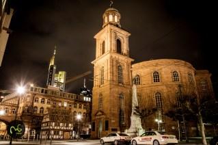 Abendlicher Winterrundgang in Frankfurt