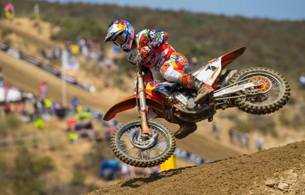 Defending champion Dungey raced to his first win of the 2016 season.Photo: Simon Cudby