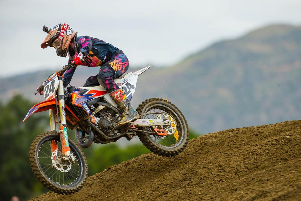 Josh Varize came out on top of an epic battle with Ryan Villopoto to win the 125 All Stars race.