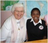 29 Judy Murphy with SFG student