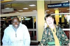 29 Kay Williams with Kiriti