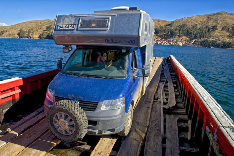 Überfahrt am Titikakasee