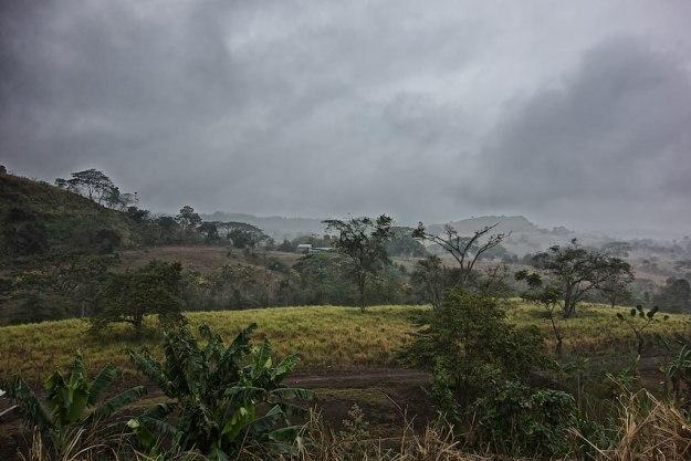 Nieselregen an der N30