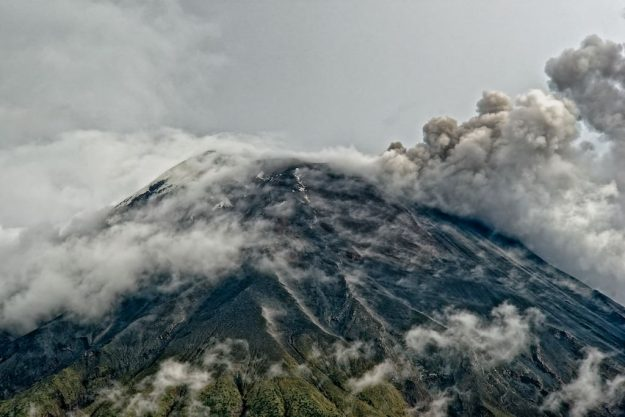 Vulkan Tungurahua-I